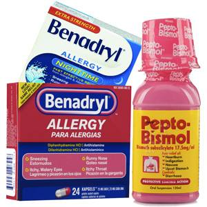 Allergy Relief and Antacids