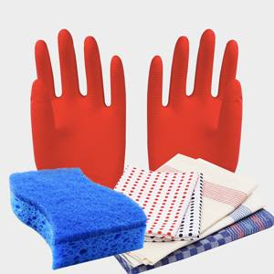 Sponges, Cloths and Gloves