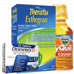 Cough, Flu and Fever