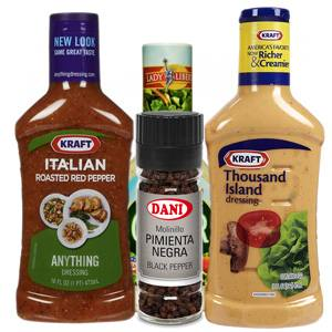 Dressings and Seasonings