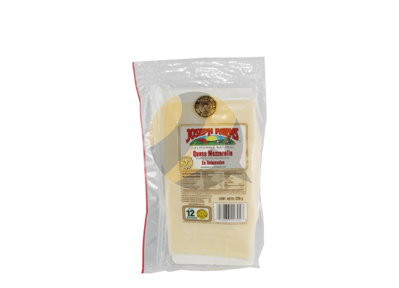 Joseph Farms Mozzarella Cheese in slices