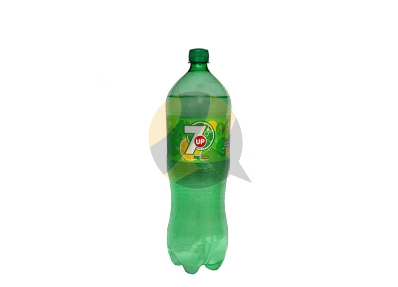 7Up Lemon Lime Soda Bottle