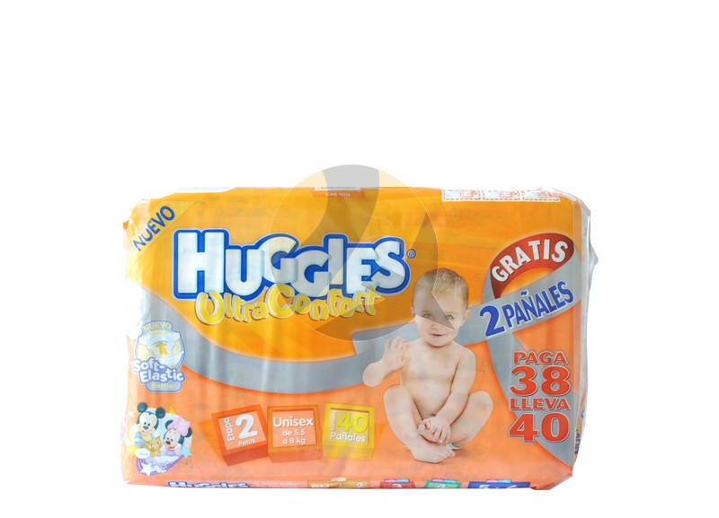 Huggies Ultra-comfort Stage 2 Unisex Diapers