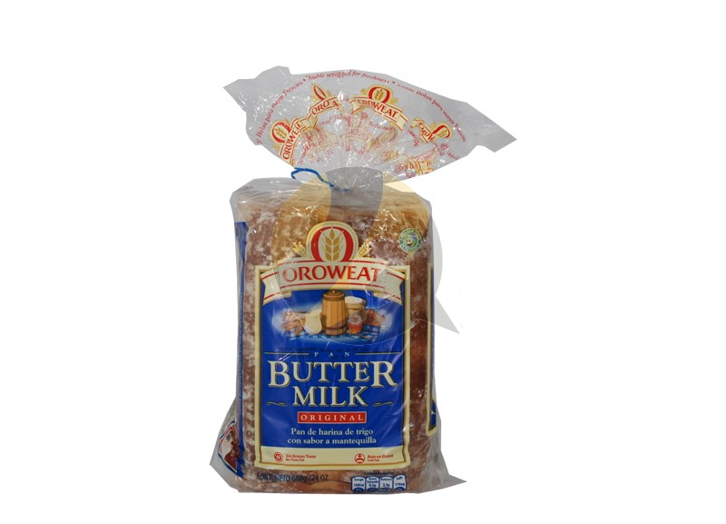 Oroweat Wheat Flour Bread with Butter Flavor