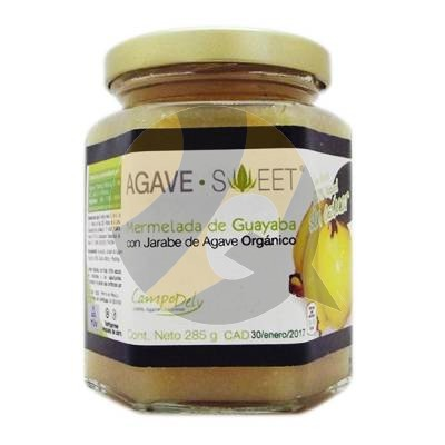 Agave Sweet Organic Guava Jam With Agave Syrup Grocery