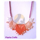 Plasha Crafts en Puntas Necklace