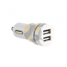 Steren Double USB Power Adapter for Car