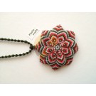 Plasha Crafts Flor Grande Necklace