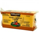 Kirkland Signature Natural Sharp Cheddar Cheese
