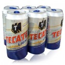 Tecate Light Beer Can 6-Pack