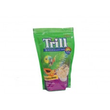 Trill Parrot Food with Fruit