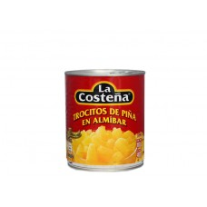 La Costeña Pineapple Chunks in Syrup