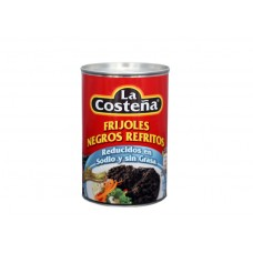 La Costeña Reduced Sodium and Fat Free Refried Black Beans