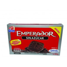 Gamesa Emperador Cookies with No Sugar Chocolate