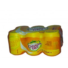 Canada Dry Tonic Water Can, 6 Pack