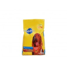 Pedigree Adult Dog Meat Dry Food Complete Nutrition