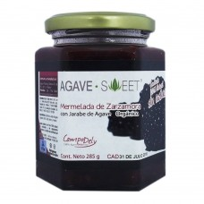 Agave Sweet Organic Blackberry Jam with Agave Syrup