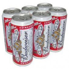 Budweiser Beer Can 6-Pack