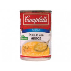 Campbell's Chicken Soup with Rice