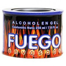 Fuego Solid Alcohol to Ingnite a Fire