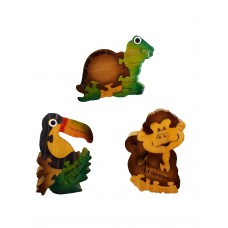 Kaema Puzzles Magnet Assorted Figures