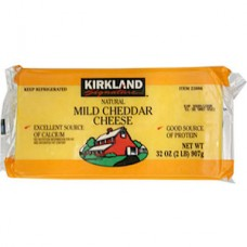 Kirkland Signature Natural Mild Cheddar Cheese