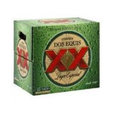 Dos Equis Lager Beer 12-Pack Bottles