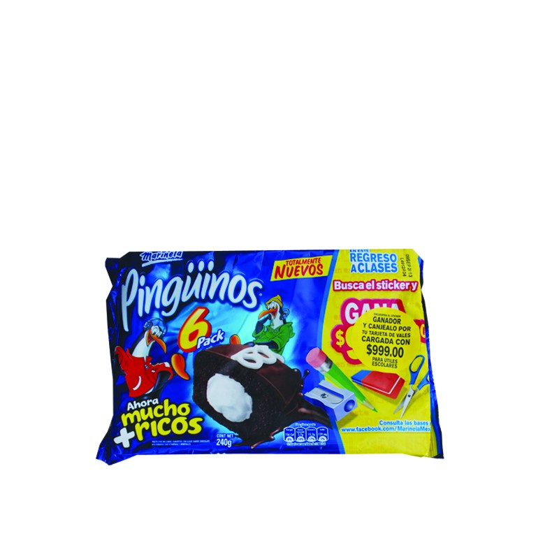 Marinela Pinguinos 6 Pack - Food Delivery